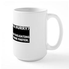 Condescending tailgatee Mug