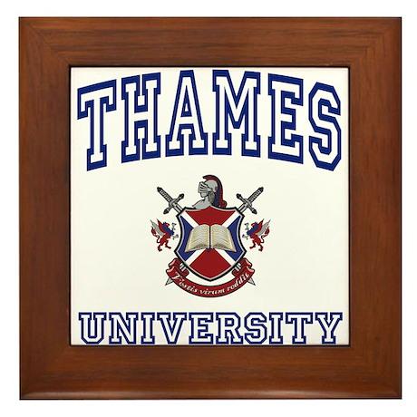THAMES University Framed Tile