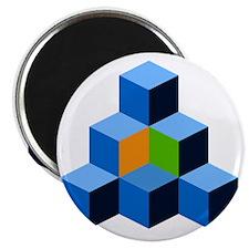 KGR Cube Colors Magnet