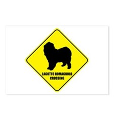 Lagotto Crossing Postcards (Package of 8)