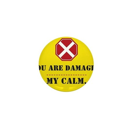 There is no Keeping Calm Mini Button