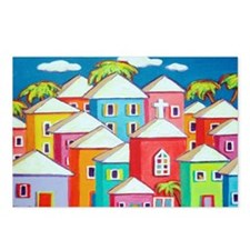 Little Village Tropical S Postcards (Package of 8)
