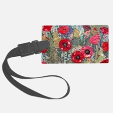 Poppy Fields Luggage Tag