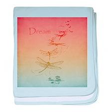 Dream Dragonflies baby blanket