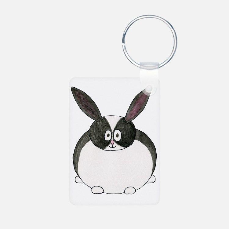 Dutch Rabbit. Keychains