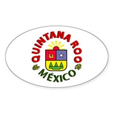 Quintana Roo Oval Decal