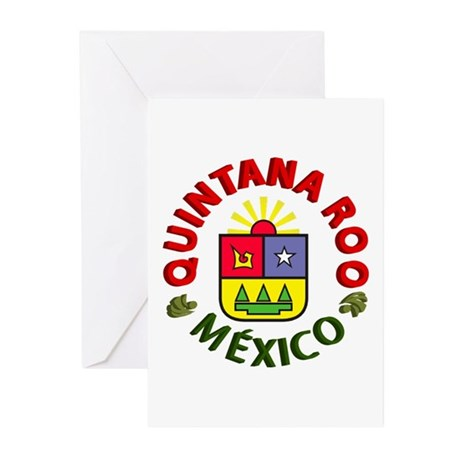 Quintana Roo Greeting Cards (Pk of 10)
