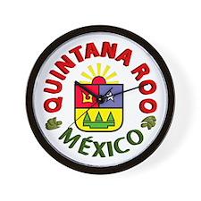 Quintana Roo Wall Clock