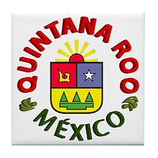 Quintana Roo Tile Coaster