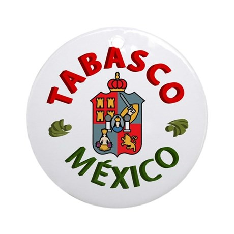 Tabasco Ornament (Round)