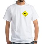 Lurcher Crossing White T-Shirt