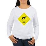 Lurcher Crossing Women's Long Sleeve T-Shirt