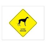 Lurcher Crossing Small Poster