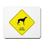 Lurcher Crossing Mousepad