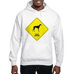 Lurcher Crossing Hooded Sweatshirt