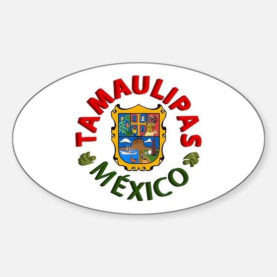 Tamaulipas Oval Decal