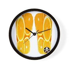 OrangSlicesFF Wall Clock