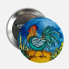 "Rooster 2 2.25"" Button"