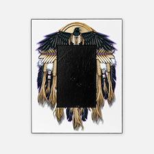 Native Crow Mandala Picture Frame