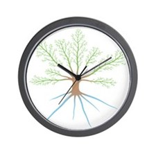 Tree 6-12 Wall Clock