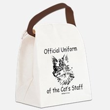 Official Uniform of the Cats Staf Canvas Lunch Bag