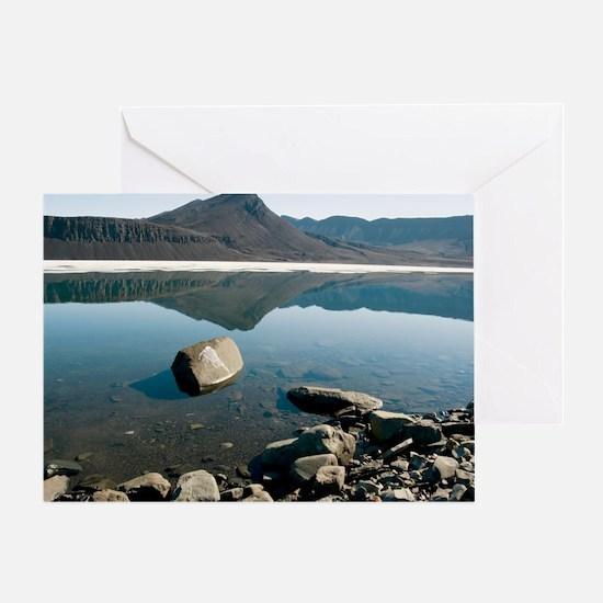 Canadian Arctic summer Greeting Card