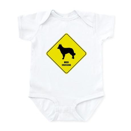 Mudi Crossing Infant Bodysuit