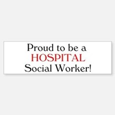 Proud Hospital SW Bumper Car Car Sticker