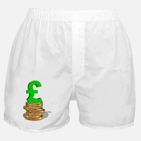 British currency Boxer Shorts