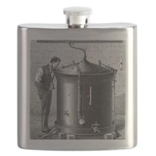 Brewery vat, 19th century Flask