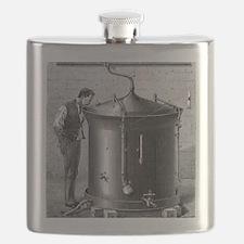Brewery vat, 19th century Flask