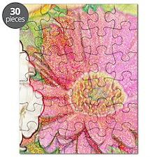 Pastel Flower Journal Puzzle