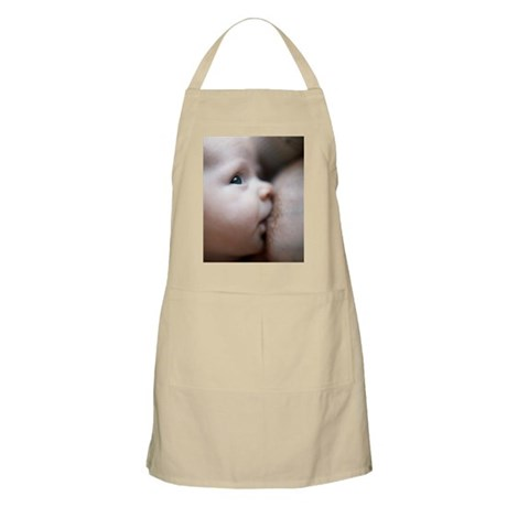 Breastfeeding baby boy Apron