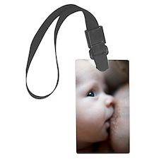 Breastfeeding baby boy Luggage Tag