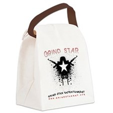 Grind Star Logo Canvas Lunch Bag