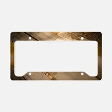 Bianchini's Meridian Line License Plate Holder