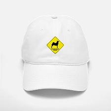 Buhund Crossing Baseball Baseball Cap
