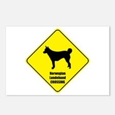 Lundehund Crossing Postcards (Package of 8)