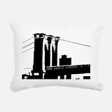 Brooklyn Bridge Rectangular Canvas Pillow