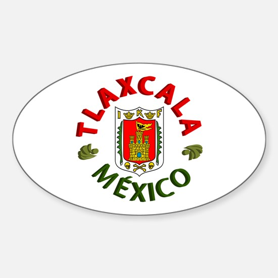 Tlaxcala Oval Decal