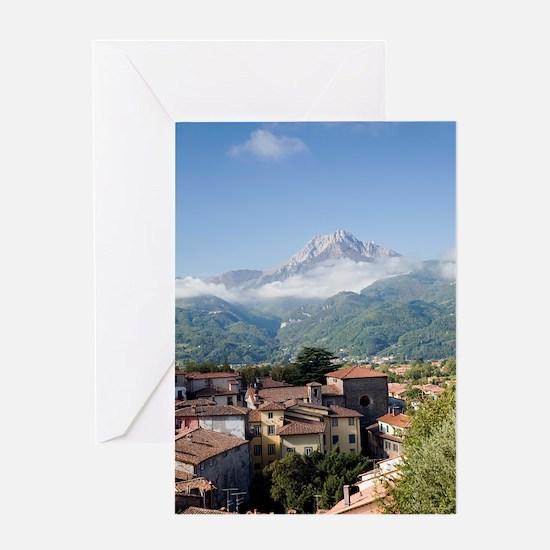 Barga, Italy Greeting Card