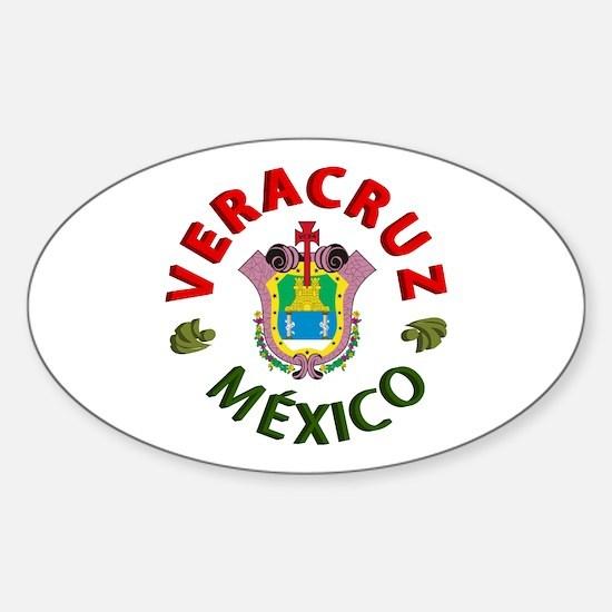 Veracruz Oval Decal