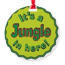 It's a Jungle in Here Ornament