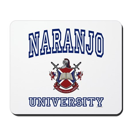 NARANJO University Mousepad