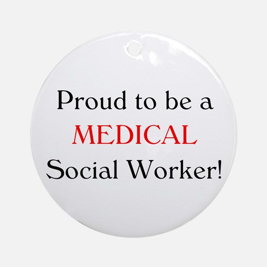 Proud Medical SW Ornament (Round)