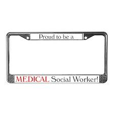 Proud Medical SW License Plate Frame