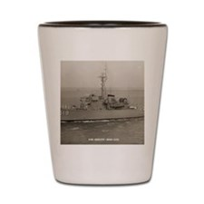 uss ability calendar Shot Glass