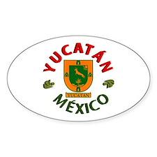Yucatán Oval Decal