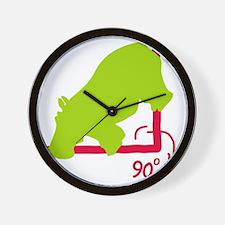 Hippopotenuse Wall Clock