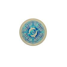 Celtic Dolphins Mini Button